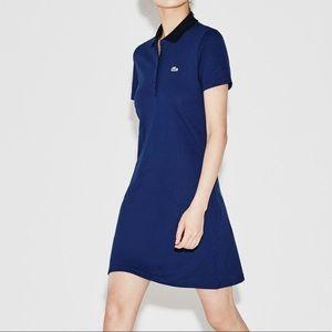Lacoste sport mini pique polo dress golf New